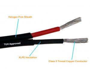 2 Core 4 sqmm XLPE Cable