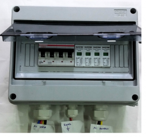 3P AC Surge Over Current Protection Box
