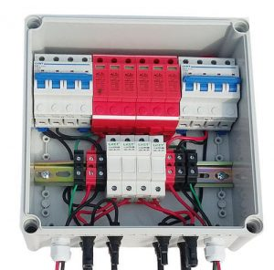 4 in 1 out Solar Array Junction Box